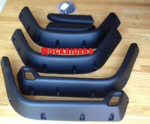 97 06 Jeep Wrangler Unlimited Tj Lj 6 Wide Pocket Fender Flares With Hardware
