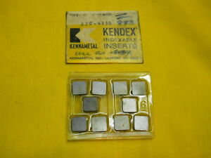 10 New Sng 434 Indexable Carbide Lathe Turning Inserts Kennametal