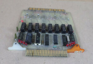 Warner Swasey Ek5959 80032102 8 relay Output Board