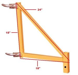 Cbm Scaffold 18 Inch Outrigger For 4 Scaffold Rolling Tower Safety Support