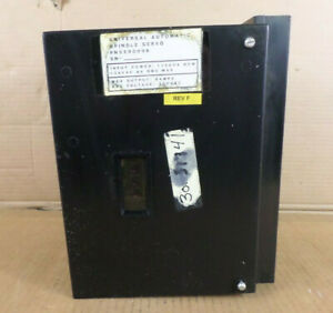 Universal Automatic 3590096 Rev F Spindle Servo Drive