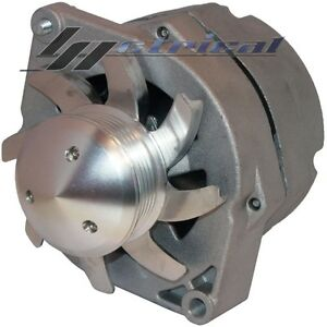 100 New Alternator For Gm Bbc sbc hotrod 10si three 3 Wire 6 Groove Pulley 110a