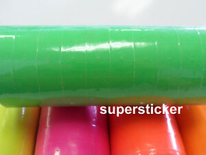 Green Price Tags For Mx 6600 2 Lines Gun 1 Tube X 13 Rolls X 500