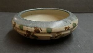 Zanesville Stoneware Zasko Antique Decorated Bowl