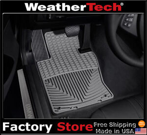 Weathertech All weather Floor Mats 2004 2010 Bmw X3 Grey