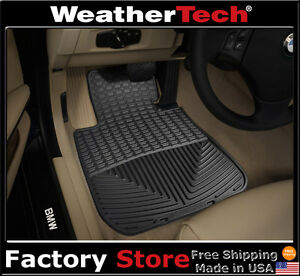 Weathertech All weather Floor Mats Bmw 3 series Coupe 2007 2011 Black