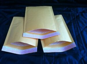 150 4 9 5x14 5 Kraft Bubble Mailers Padded Envelopes Self Seal 100 4