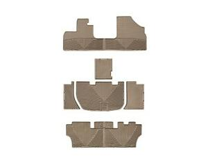 Weathertech All Weather Floor Mats For Honda Odyssey 2005 2010 1st 2nd 3rd Tan