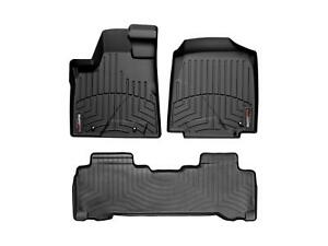 Weathertech Digitalfit Floorliner For Honda Pilot 06 08 1st 2nd Row Black
