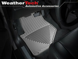 Weathertech All weather Floor Mats Gmc Envoy 2002 2009 Grey