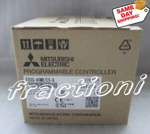 same Day Shipping Mitsubishi Plc Fx3g 40mr es New In Box 1 year Warranty