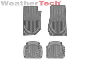 Weathertech All weather Floor Mats Jeep Wrangler 2007 2013 Grey