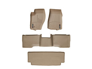 Weathertech Floor Mats Floorliner For Jeep Commander 2006 2010 Tan