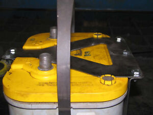 Optima D34 Battery Box Mount Yellow Red Blue Top Custom Offroad