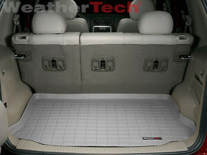 Weathertech Cargo Liner Trunk Mat For Jeep Liberty 2002 2007 Grey
