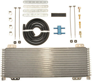 Tru cool Max Lpd 4739 Transmission Oil Cooler Heavy Duty With Cold Bypass Kit