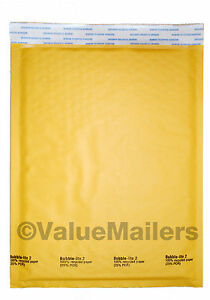 2000 2 8 5x12 Kraft Bubble Lite Mailers Padded Envelopes Mailer Bags 8 5 X 12