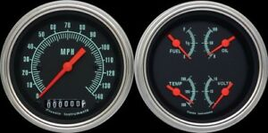 Classic Instruments G Stock Series 2 Gauge Set Tach New Gs02slc
