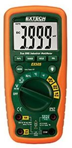 Extech Ex505 Cat Iv 11 Function Heavy Duty True Rms Industrial Multimeter