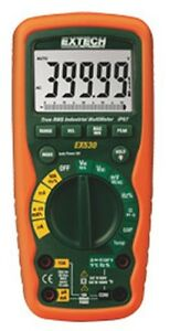 Extech Ex530 Cat Iv 11 Function Heavy Duty True Rms Industrial Multimeter