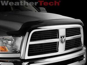 Weathertech Stone Bug Deflector Hood Shield For Dodge Ram 2500 3500 2010 2018