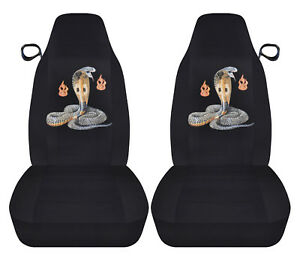 94 04 Ford Mustang Front Car Seat Covers W Cobra Design Choose Back Seat Avbl