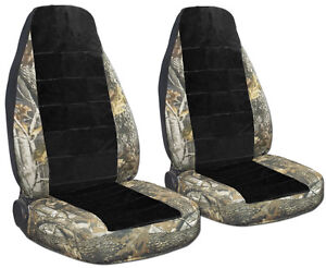 Chevy S10 60 40 Seat Front Car Seat Covers Camo Side blk Center Choose more Avbl