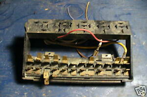 Vw Aircooled Super Beetle Fuse Assembly 71 72 1302s Model