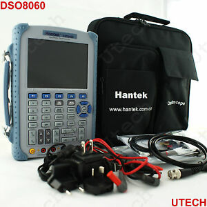 Hantek Portable Dso8060 60mhz Five in one Handheld Oscilloscope Spectrum Genera
