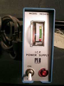 Piezotronics Icp Power Supply Model 482a06 Tested
