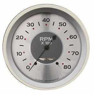 Classic Instruments All American Series Tach Gauge 4 5 8 Hot Rod Street