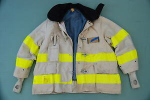 Cairns Firefighter Turnout Chief Jacket variable Size Off White
