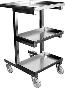 Ace Stainless Steel Sauce Cart For Chinese Wok Range C sce