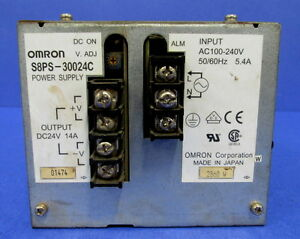 Omron 24v 14a Dc Power Supply S8ps 30024c pzf