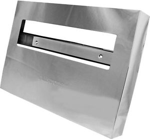 Gsw 250 Sheets Stainless Steel Toilet Seat Paper Dispenser 11 X 16 Bx tsc