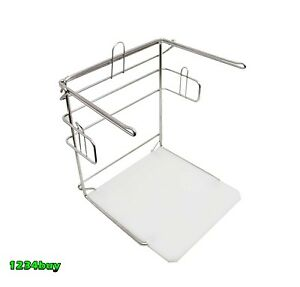 Ace Stainless Steel Express Packer Rack For Shopping Grocery Bags Act csbr