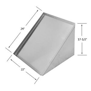 Ace Stainless Steel Wall Mount Shelf For Glass Rack 22 l X 24 w Dt ws2422