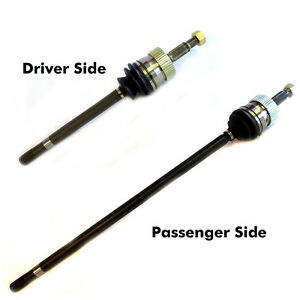 2 New Cv Axles Front Left Right Fit Jeep Grand Cherokee Can Repl U Joint Too