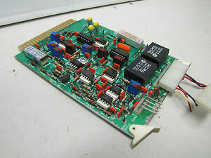 Elox Division Colt Industries Servo Circuit Board Card 320017 006 320017006