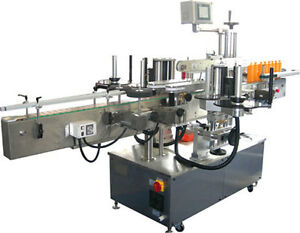Telesonic Packaging Double Sided Labeling Machine labeler brand New Stainless