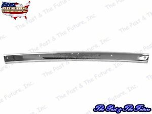 Header Windshield Molding Stainless 1965 1966 1967 Mustang Convertible