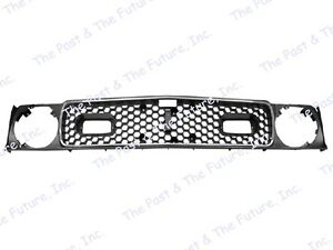 1971 1972 71 72 Mustang Grille Grill W Molding trim Mach 1 Msmg7172 4