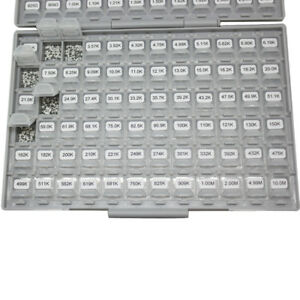 0805 Smd Smt 144 Values 1 Engineering Sample Resistor Kit In Box all E96 14400p