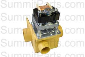 2 Inch Drain Valve Overflow Port 220v For Wascomat Washers 099876