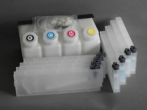 Bulk Ink System 4x8 For Roland Mimaki Printers Us Fast Shipping