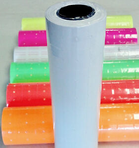 5000 Tags Labels Refill For Motex Mx 5500 Or One Line Price Gun Blank White