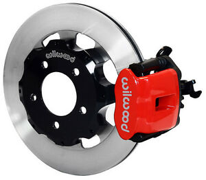 Wilwood Disc Brake Kit Rear 2006 2012 Honda Civic Si 2 0 12 Rotors Red Calipers