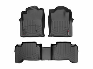 Weathertech Floorliner Mat For Toyota Tacoma Double Cab 2005 2007 Black