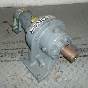 Sumitomo 230 460v 1 4hp 84 1 Ratio Sm cyclo Gear Motor Tc f painted Grey