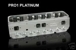 Dart Pro 1 Small Block Chevy 230 64cc Cylinder Heads 11710040p Free Shipping